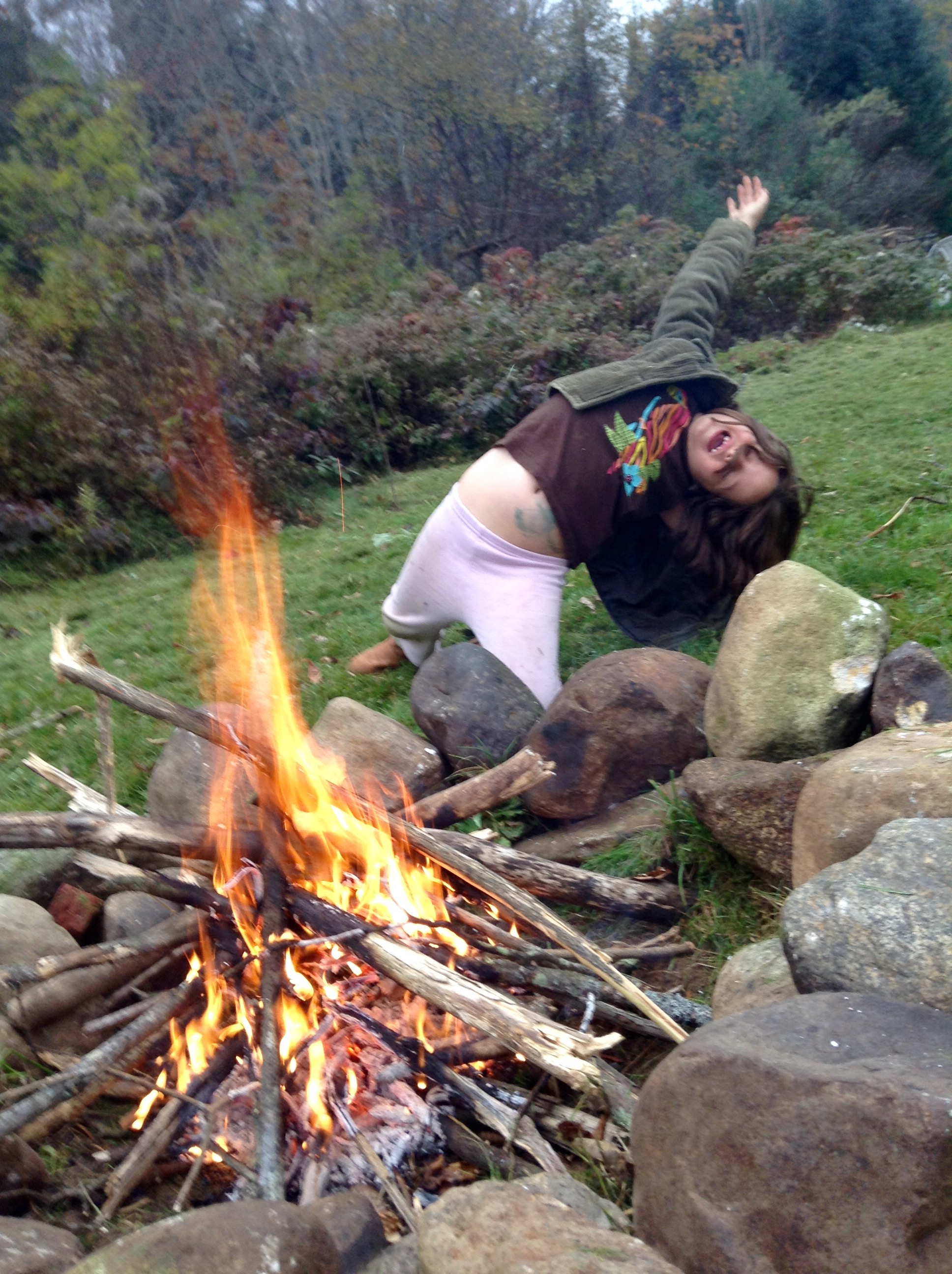 food blog irene campfire
