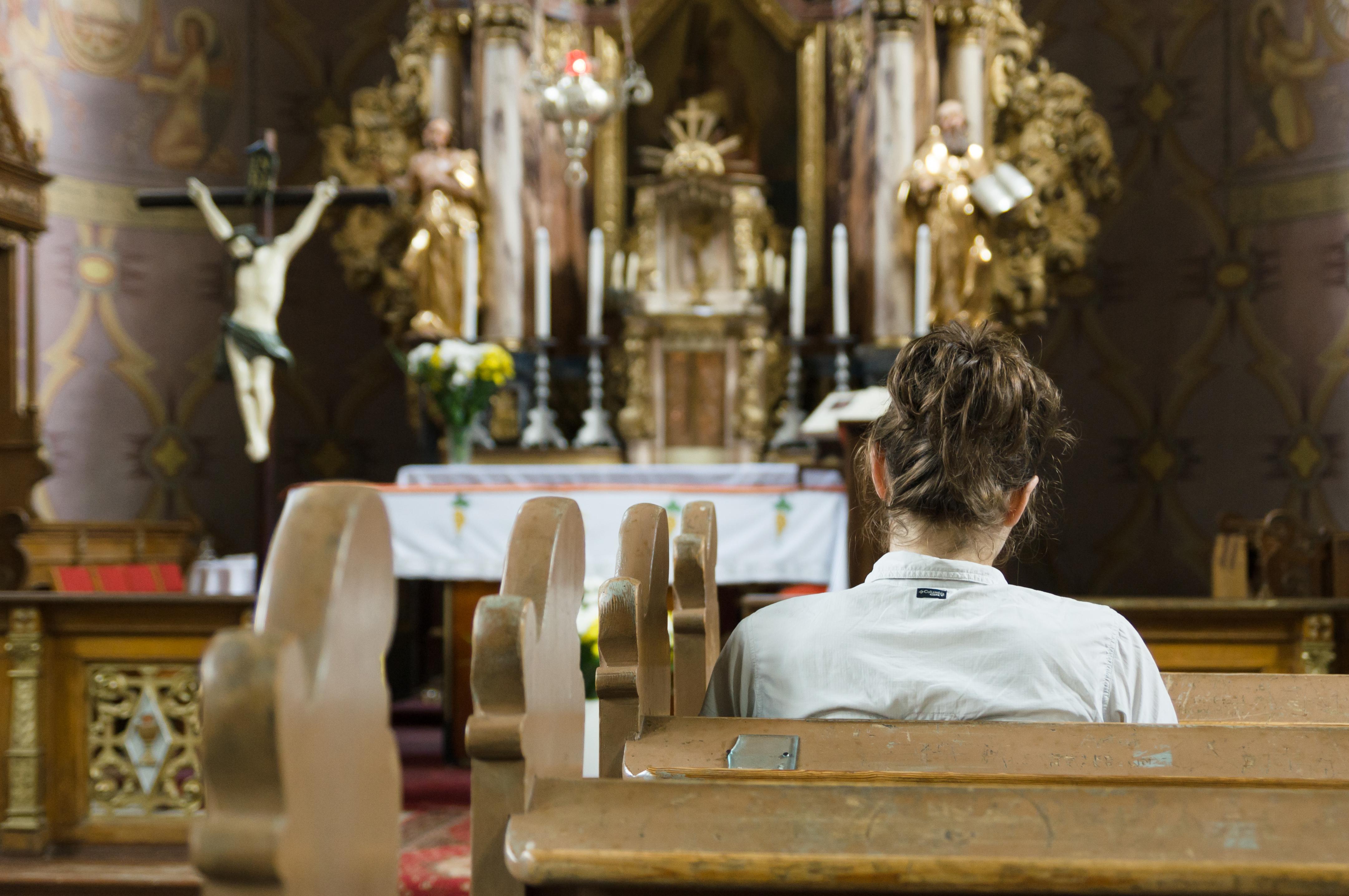 Ramsowo,_kościół,_modlitwa