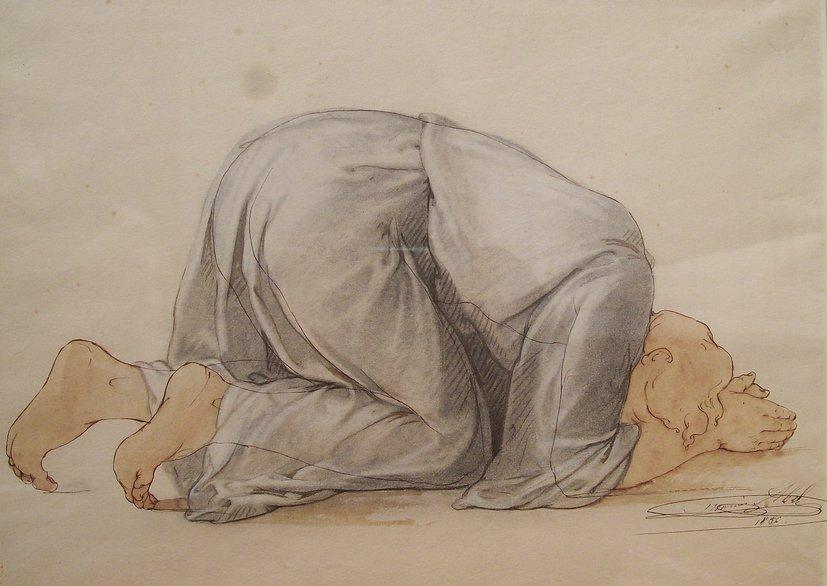 ABEL_-_Figure_Kneeling_in_Prayer
