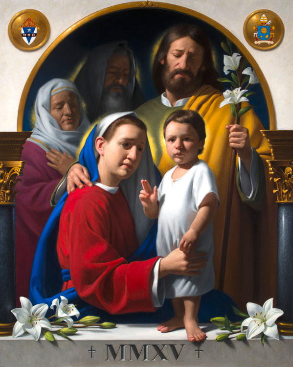 carlin holy family