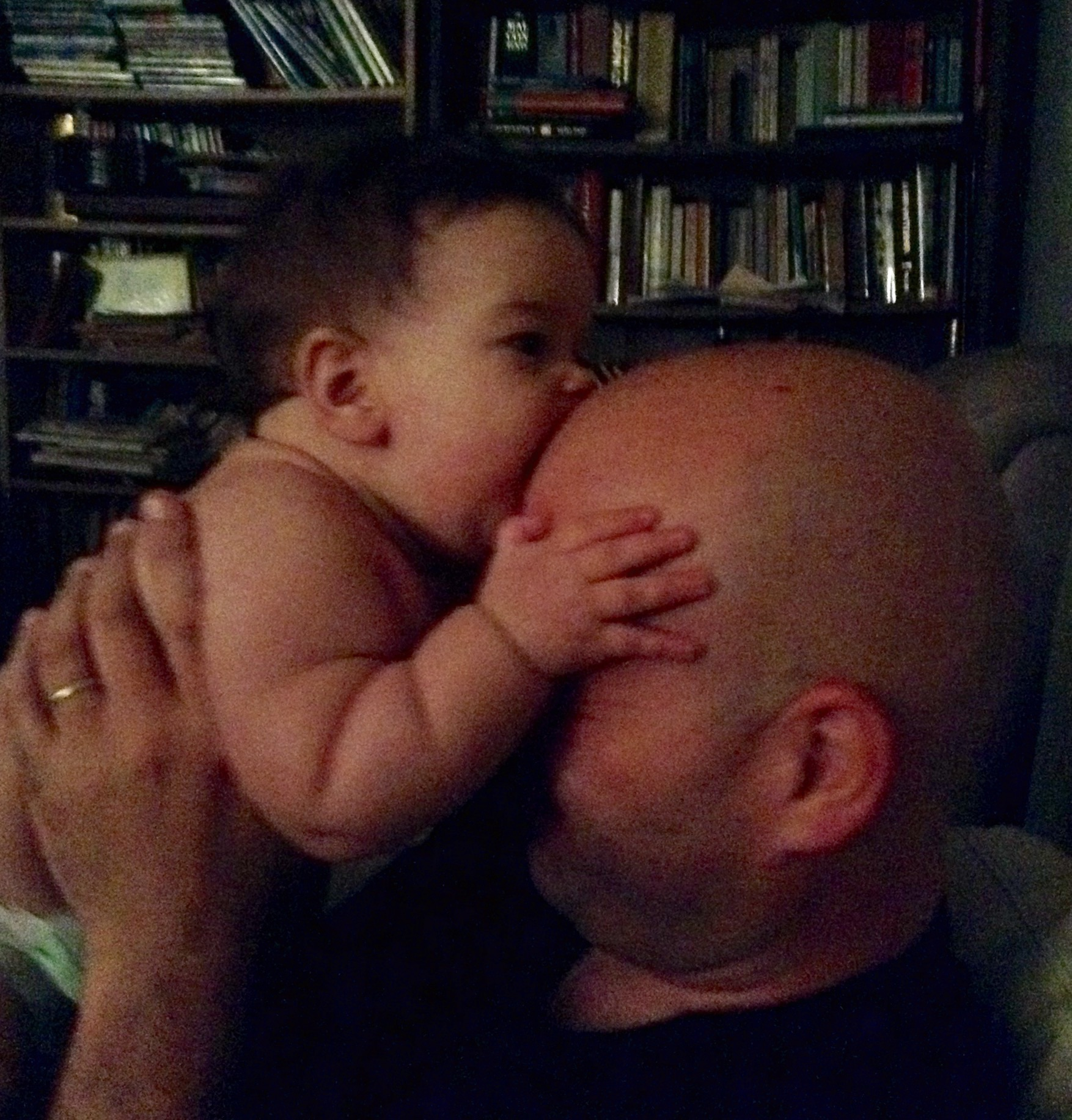 corrie eating daddy's head