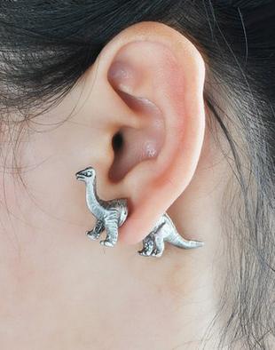 dinosaur earring
