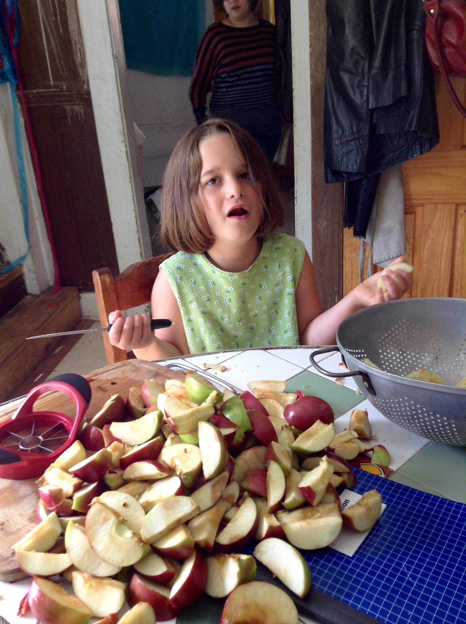 food blog irene apples