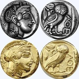 greek coin replicas