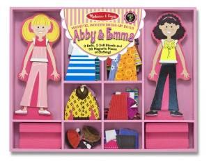 magnetic dress up dolls