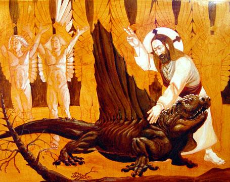 matt cleark blessing of dimetrodon