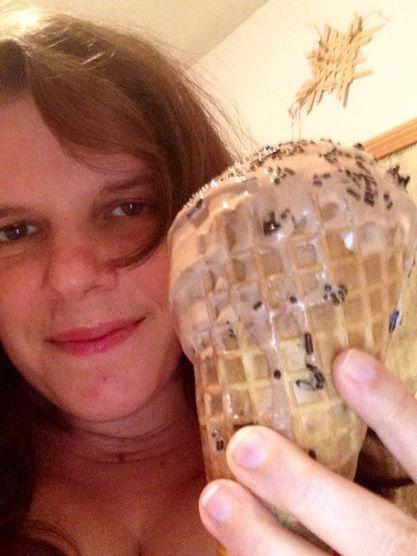 me get ice cream