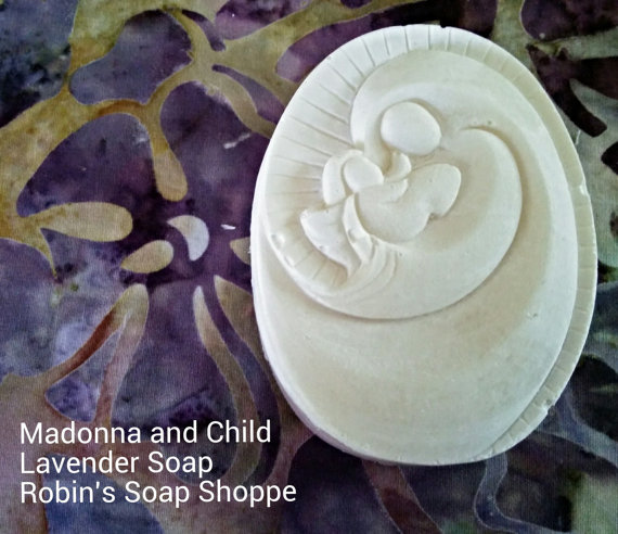 robin soap madonna and child