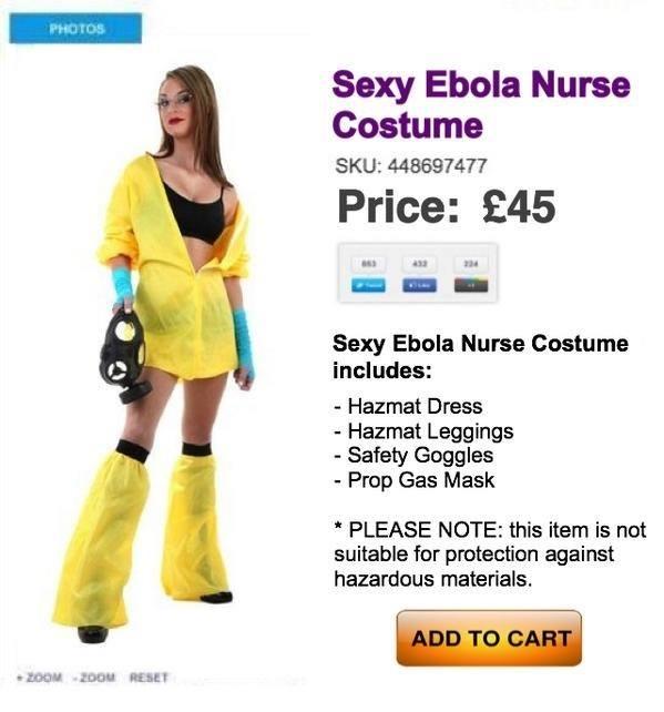 sexy ebola nurse