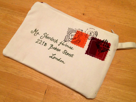sherlock holmes letter bag