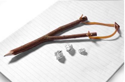 slingshot pencil