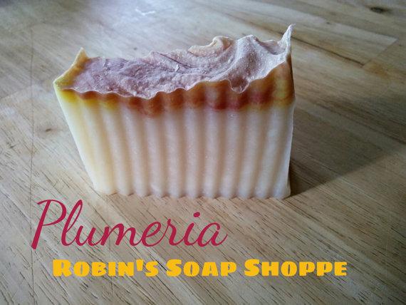 soap plumeria