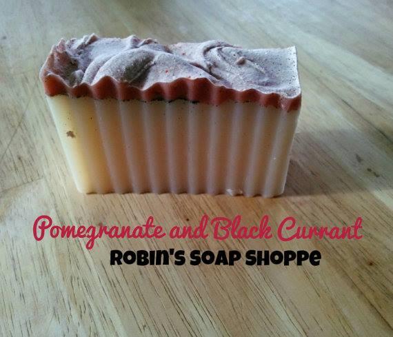 soap pomegranate black currant