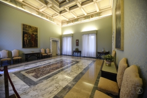 Papal apartment - Apostolic Palace - Castel Gandolfo, October 21