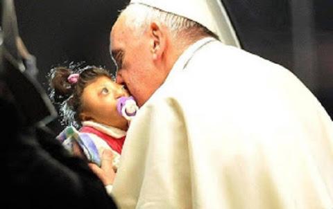 Ruhama e o papa Francisco