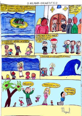 A bênção do Santíssimo que deteve um tsunami