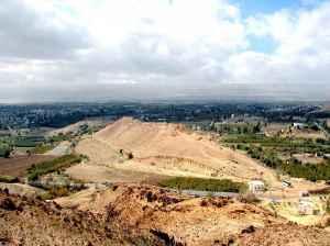 Sodoma, o local das escavações.
