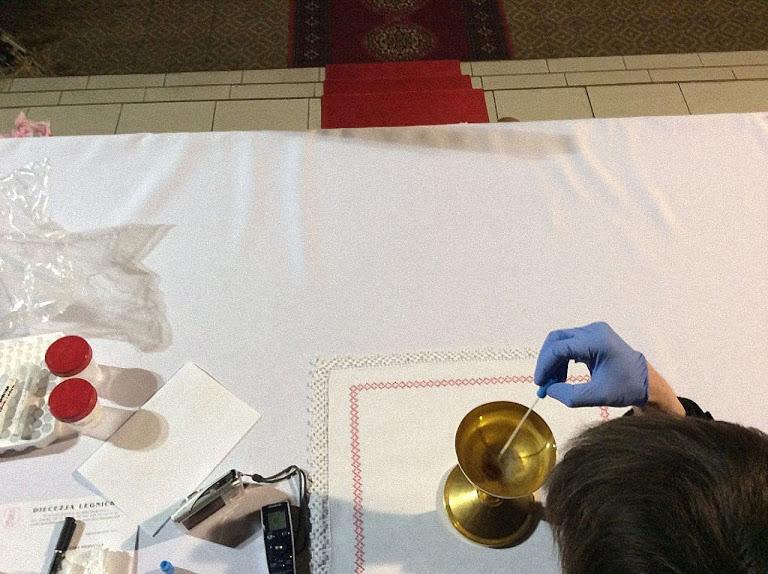 Médicos forenses tiraram amostras, analisaram em laboratórios e concluíram 'é tecido muscular humano' como o de um coração de um homem em agonia.