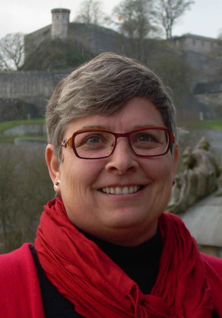 """Marie-Armelle Beaulieu, chefe de redação da """"Terre Sainte Magazine"""","""
