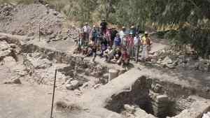 Betsaida restos da cidade romana de Julias construída sobre a cidade amaldiçoada por Jesus.