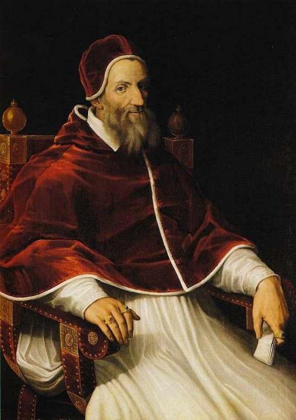 O Papa Gregório XIII implantou o calendário na sua forma atual