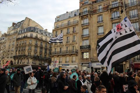 Comme toujours les Bretons ramènent le plus haut drapeau..