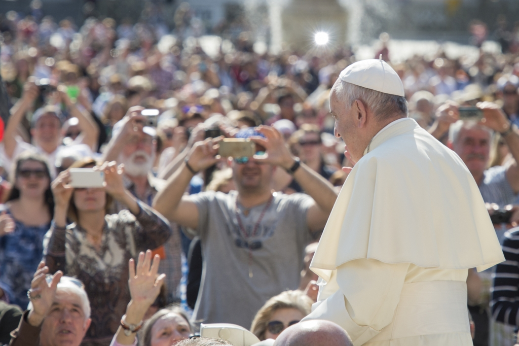 Pope Francis General Audience May 04, 2016