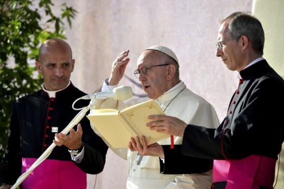 POPE FRANCIS Via Crucis Blonia Park